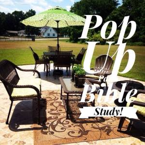 pop up patio