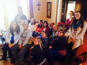 New Years Day 2015~ A great group of gals popped over!