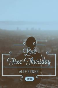 Today we are joining Suzie Eller and other wonderful women on the journey to Live Free! Visit http://tsuzanneeller.com/