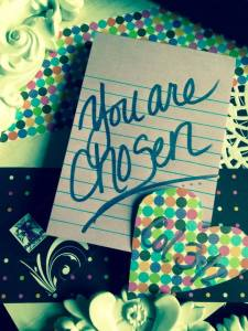 love letter you are chosen
